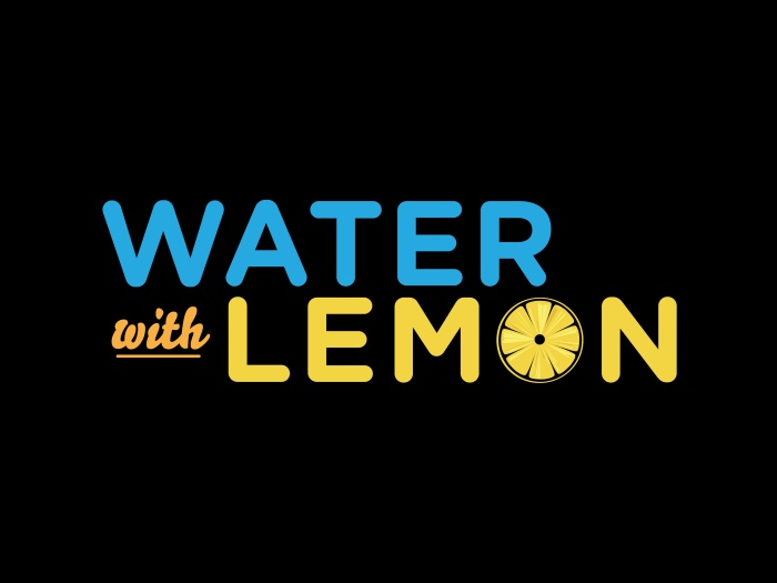 Water with Lemon: Sizzle